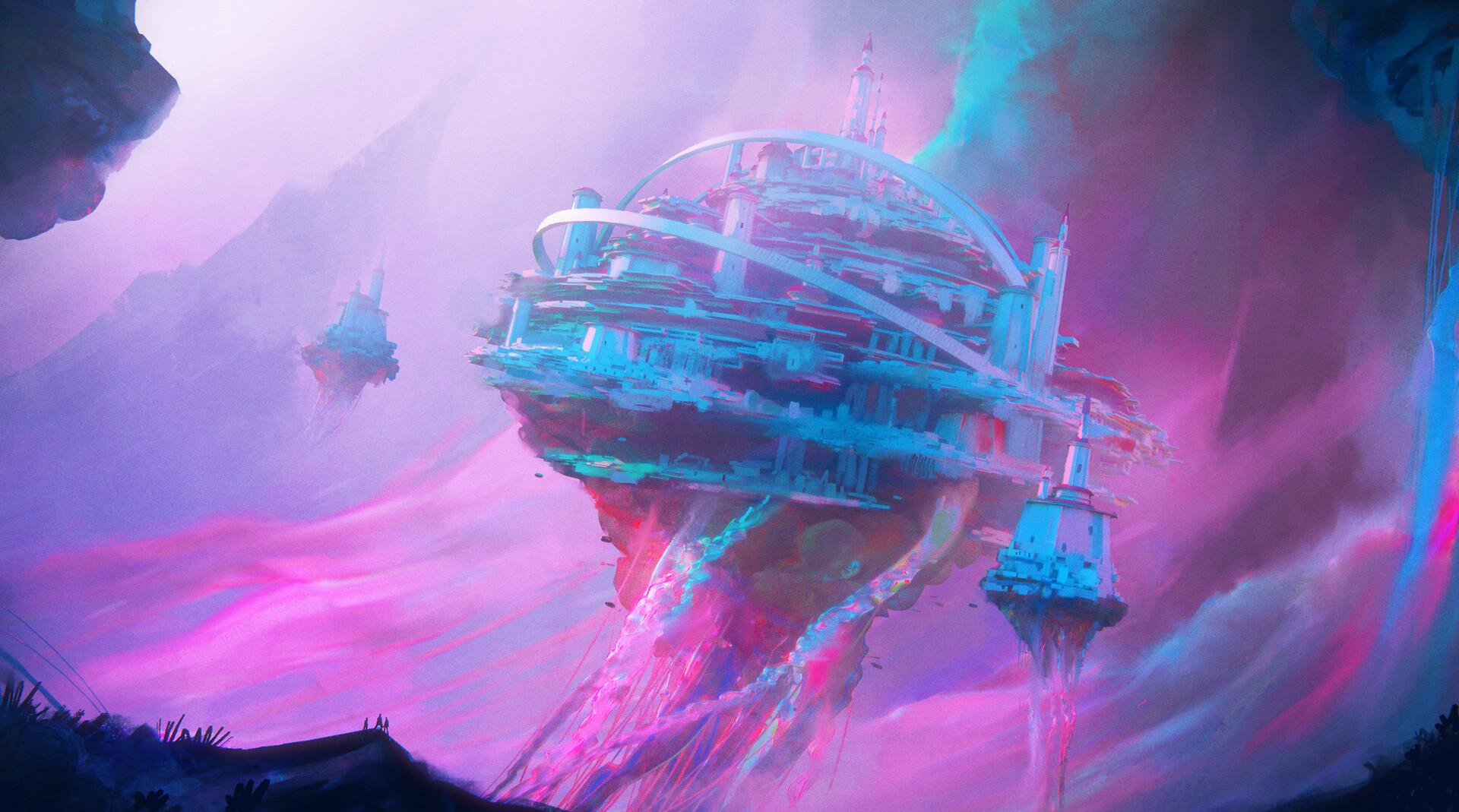 Leon tukker jellyfishscene sketch2
