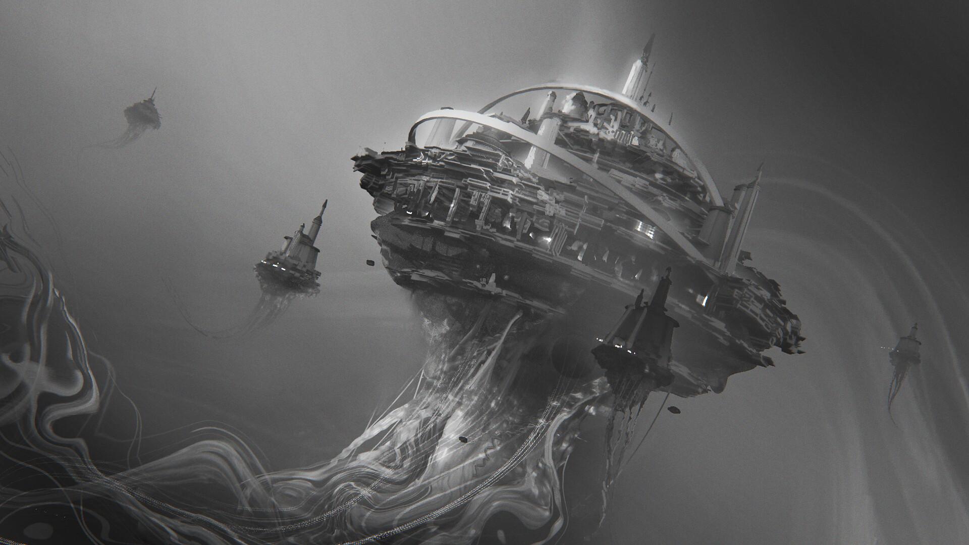 Leon tukker jellyfishscene12 sketch