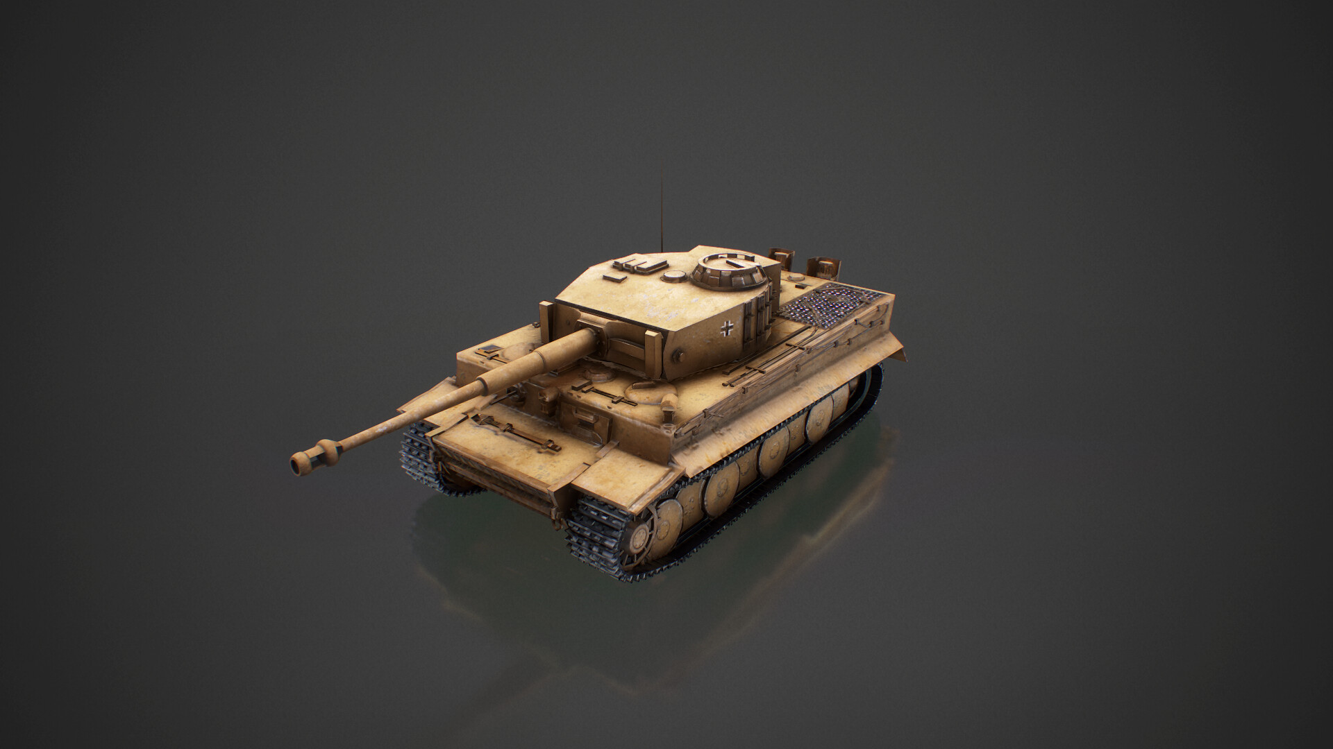 Artstation Panzerkampfwagen Vi Tiger 1 Ausfe Asier