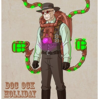 Jerome moore doc ock holliday filter