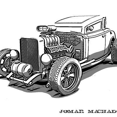 Jomar machado 09 hot rod beach boys