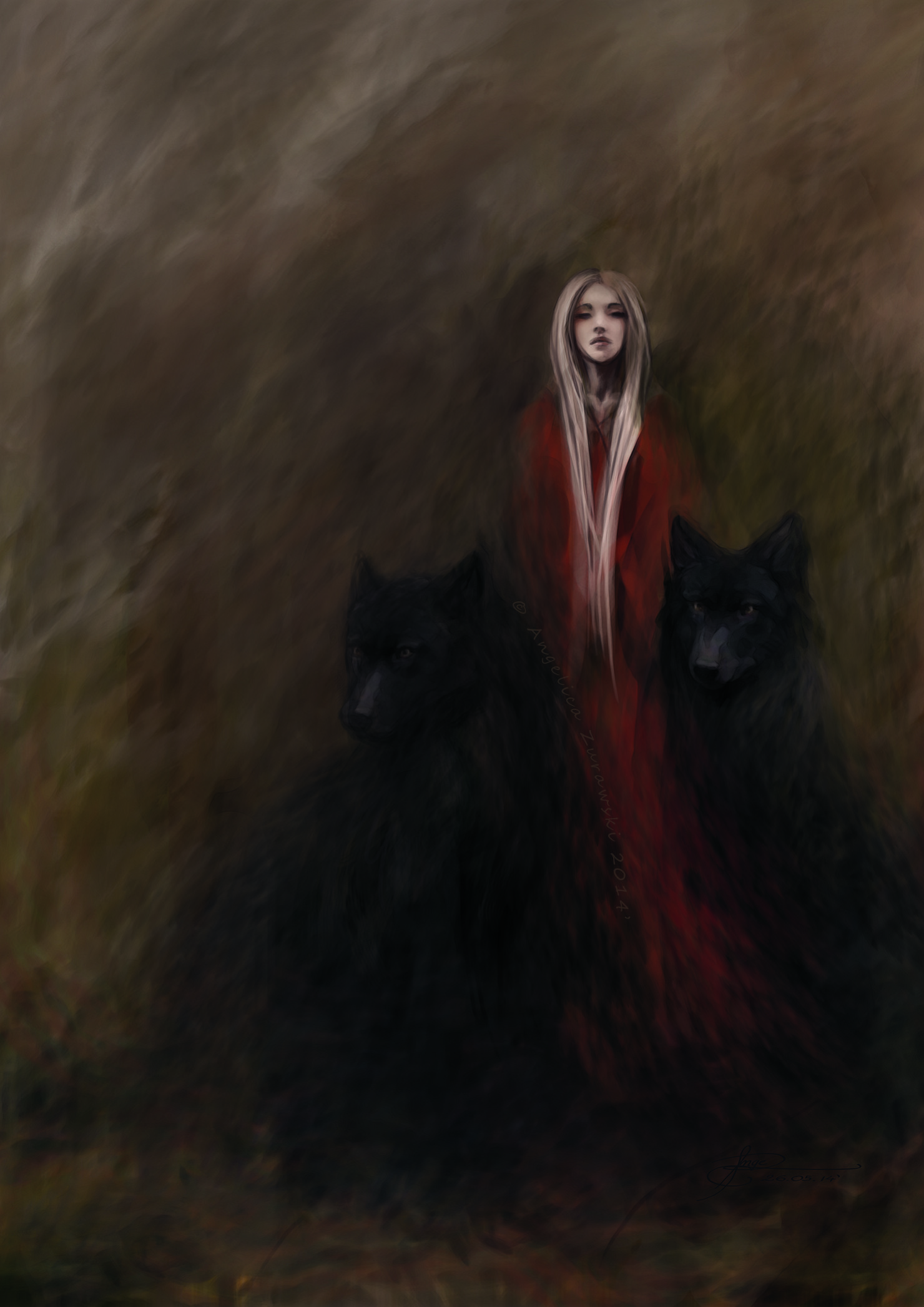 Angelica zurawski 140526 the lady of the black wolves a