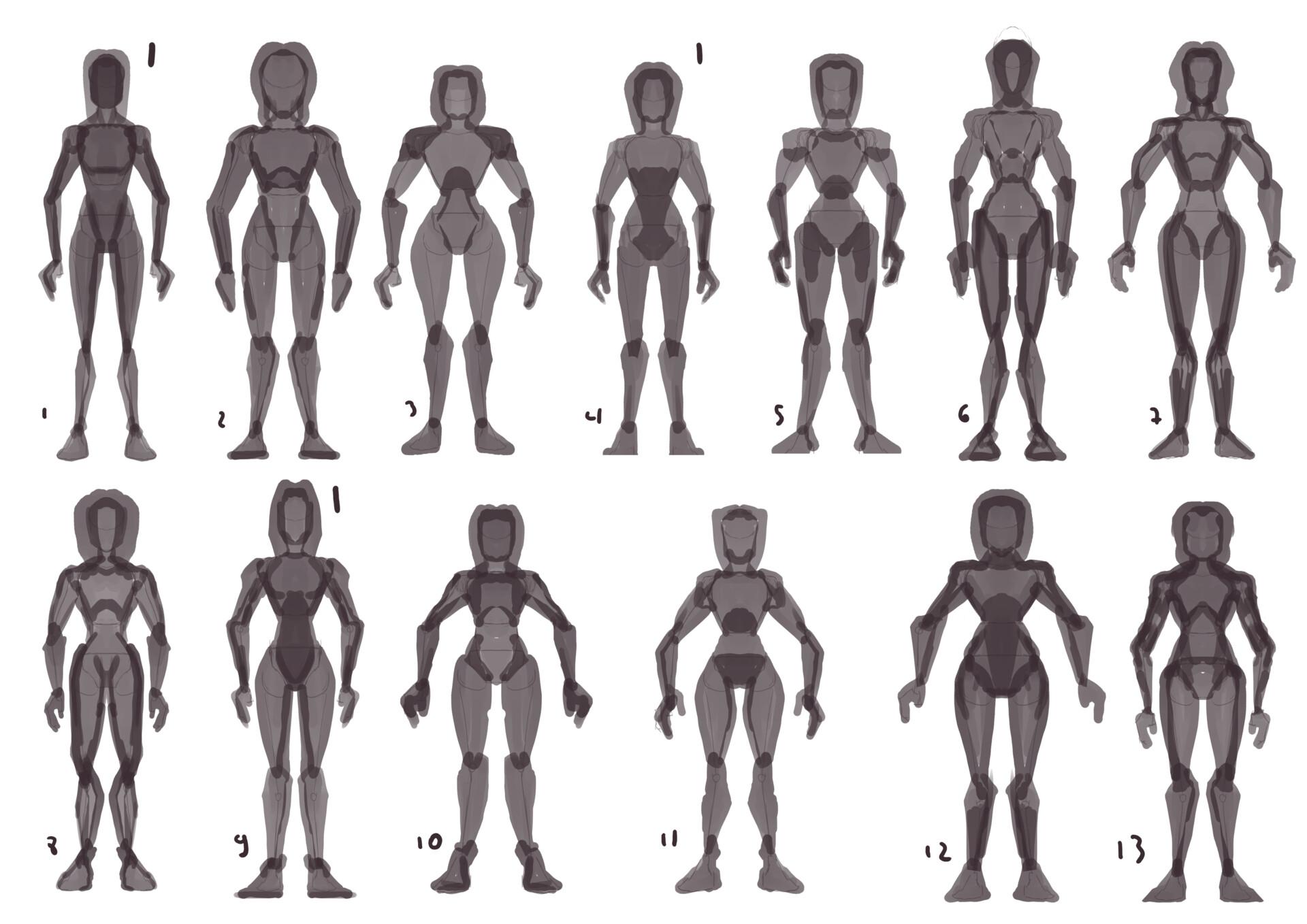 Body thumbs