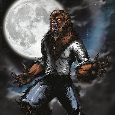 Christian woods werewolf
