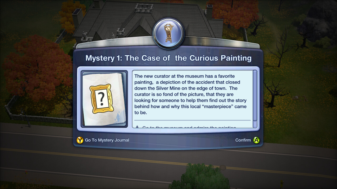 Mystery notification