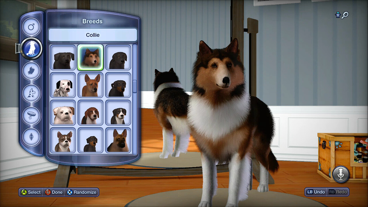 Create a Pet - breed selection