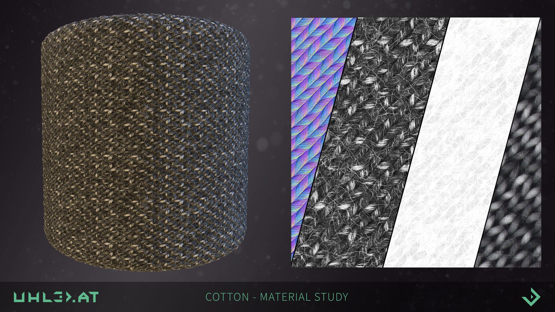 Dominik uhl cotton study 02