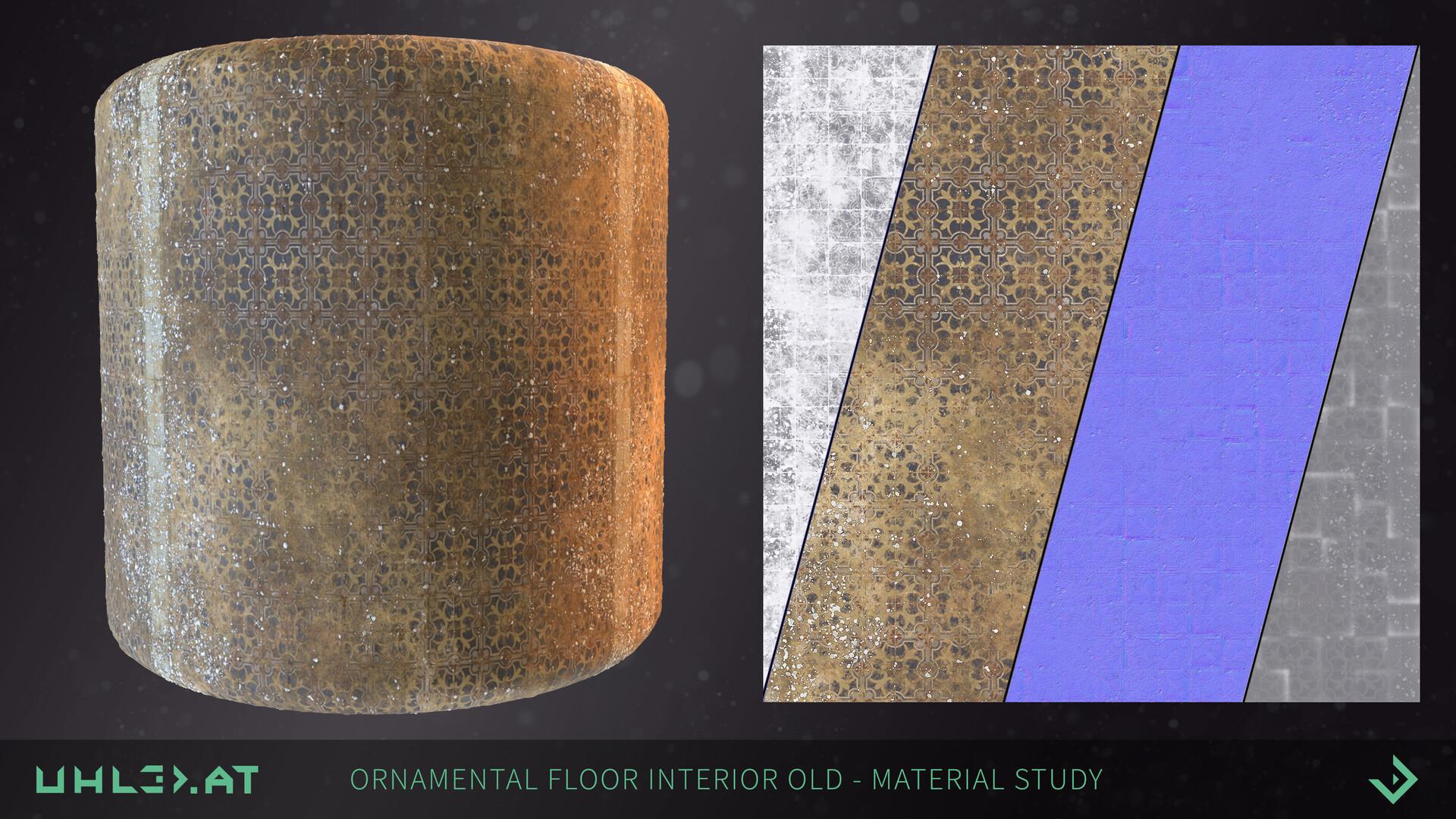 Dominik uhl ornamental floor 02