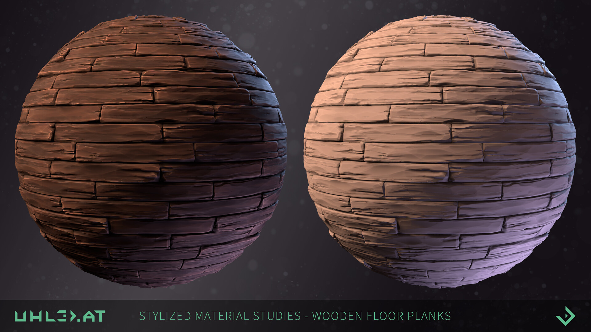 Dominik uhl stylized wooden floor studies 01