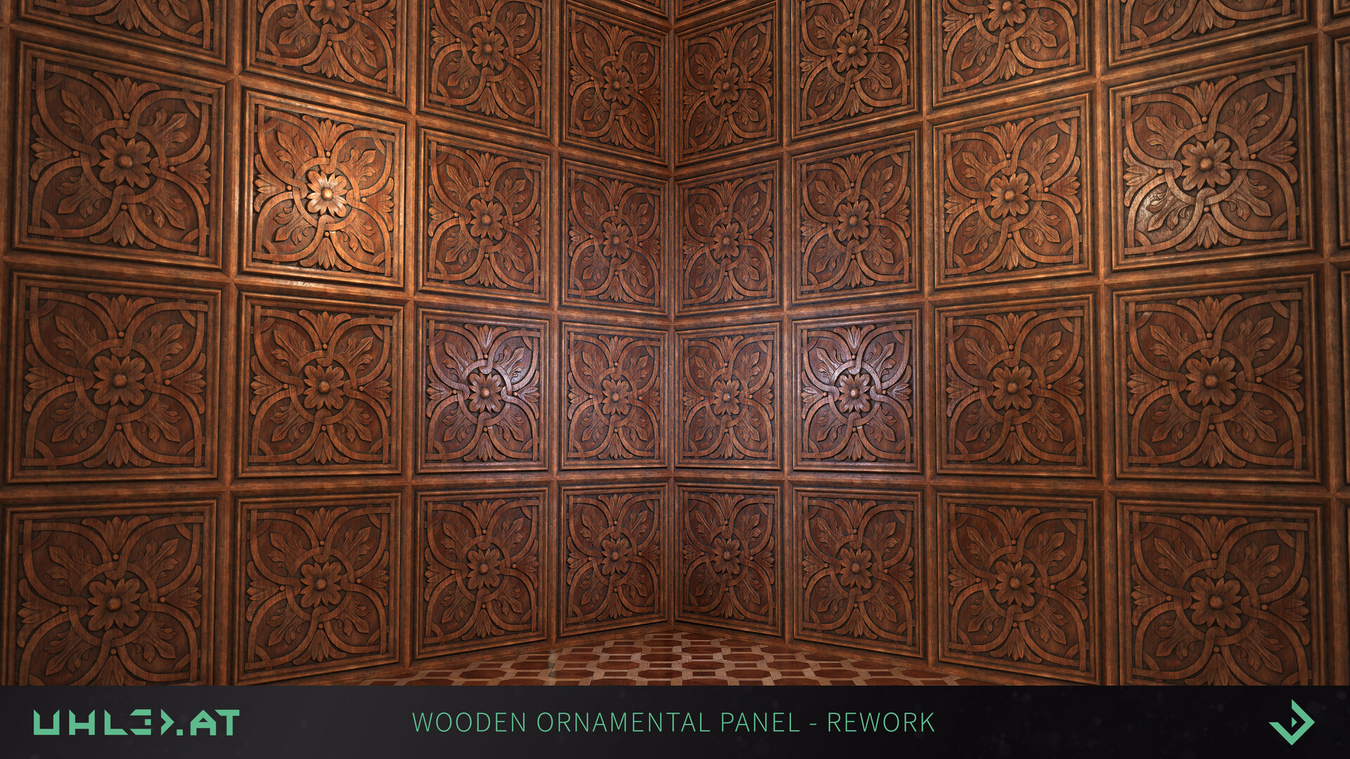 Dominik uhl wood panel ornament rework 06