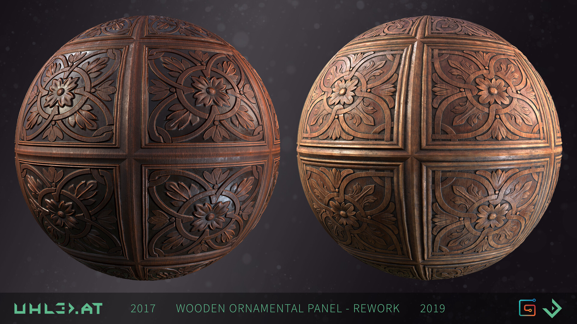 Dominik uhl wood panel ornament rework 07