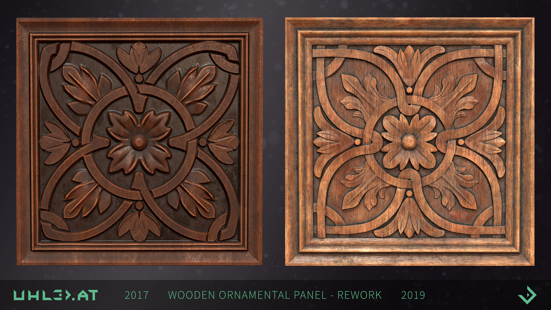 Dominik uhl wood panel ornament rework 09