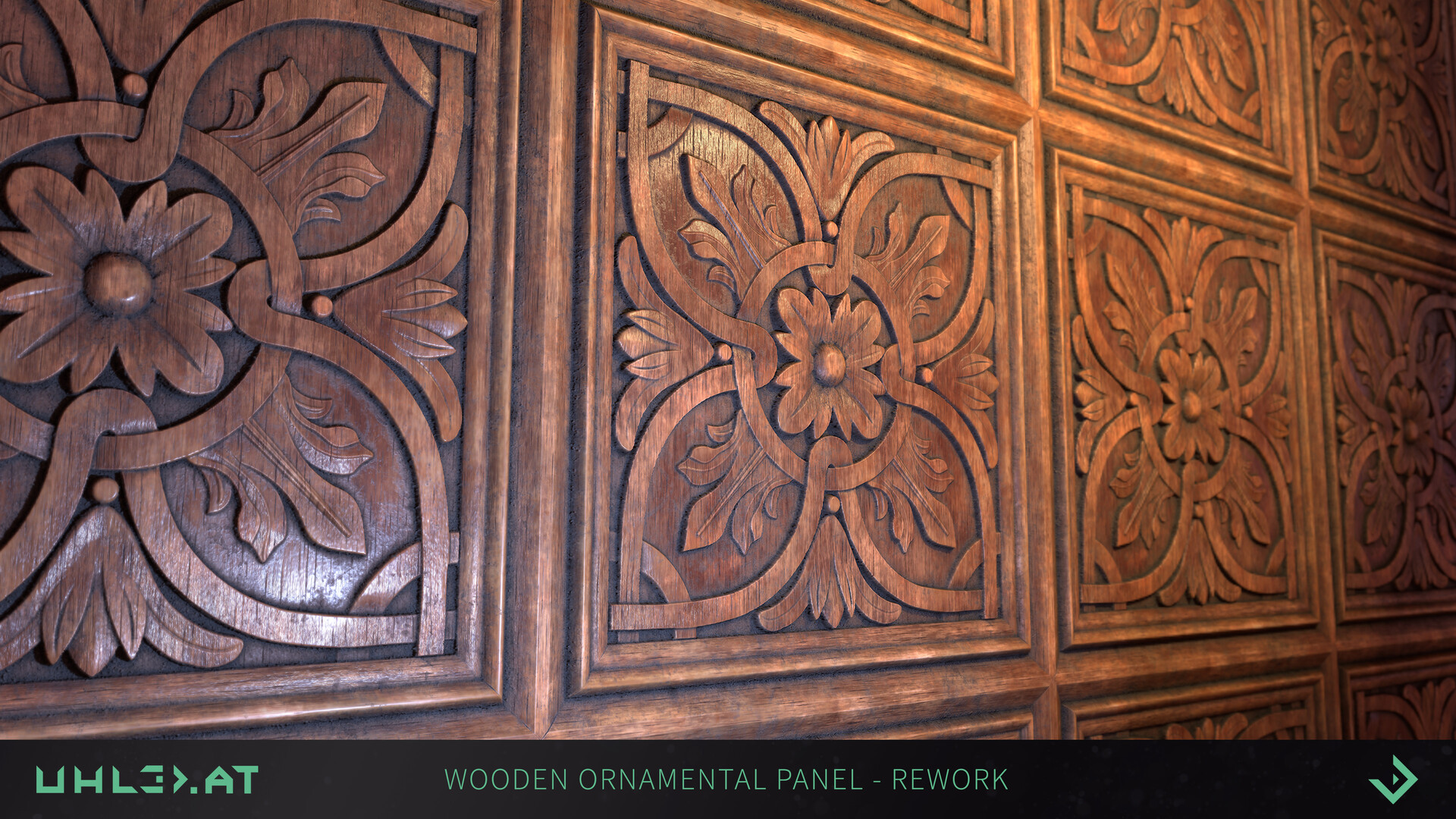 Dominik uhl wood panel ornament rework 04
