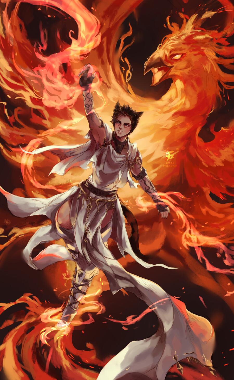 Firebird of legend.