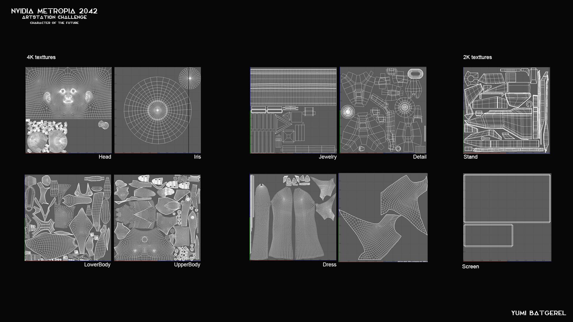 Yumi batgerel texture sets