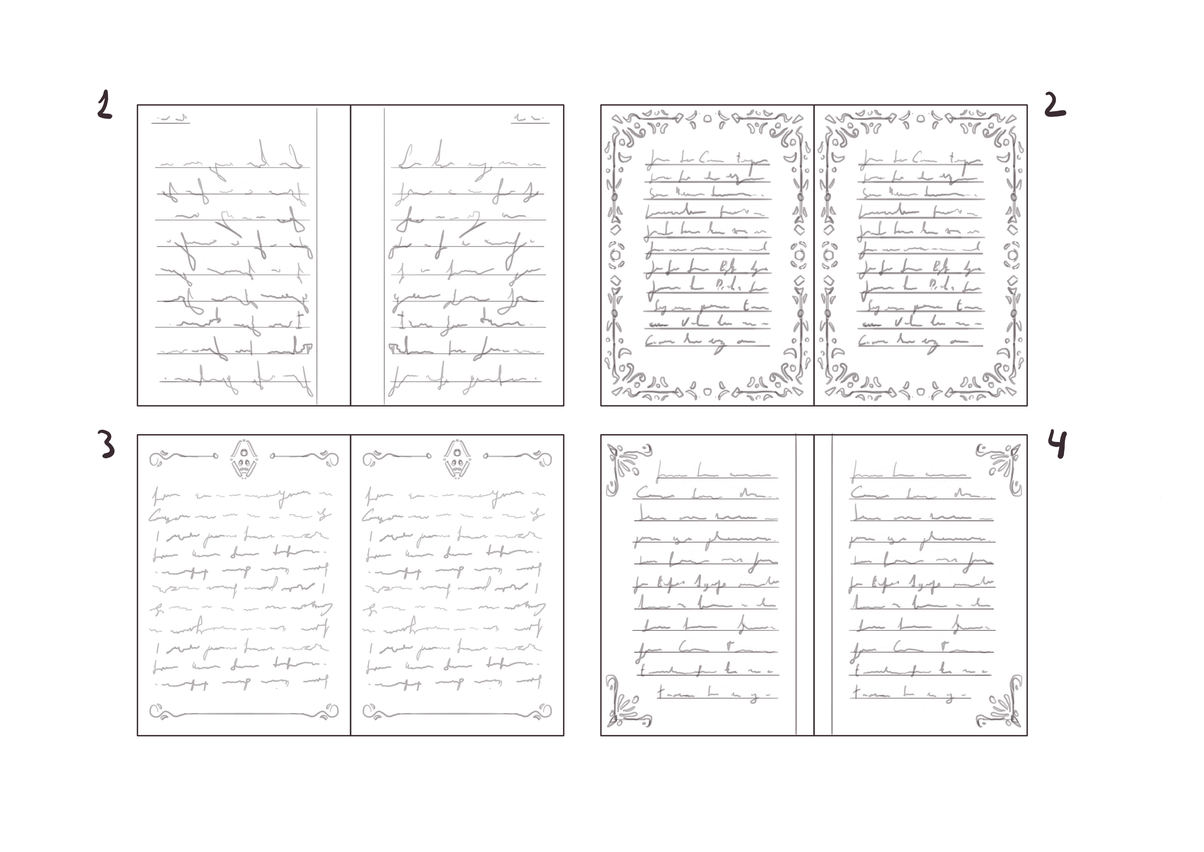 Pages thumbs.