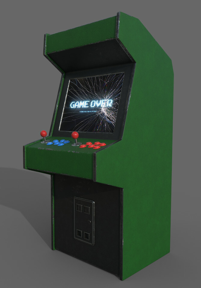 Swamp Thing - Arcade Machine (No Decal)