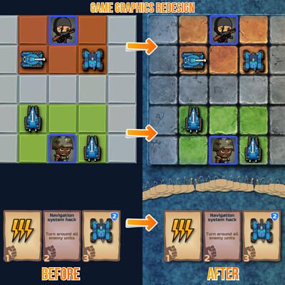 Roman boichuk game graphics redesign