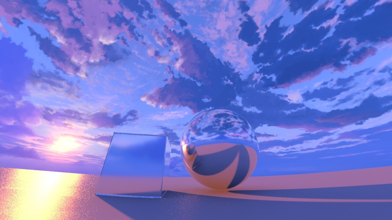 Calina [Ayumi]  Sparhawk painted the entire HDRI for the upcoming Yardsale HDRI pack! Stay tuned!