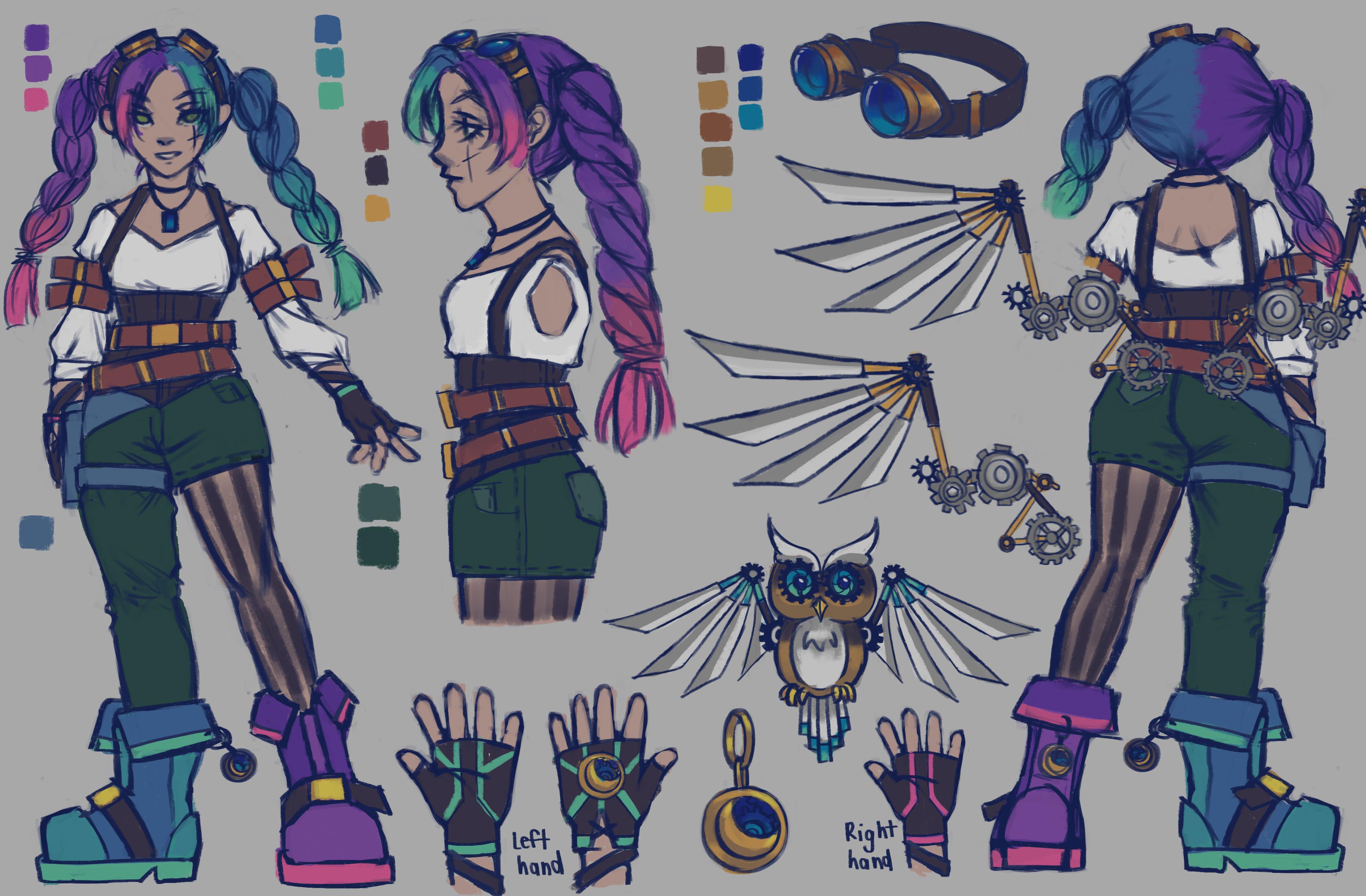 TalesRunner Character Concept - Gretel skin variation 1