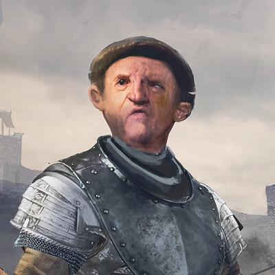 Patrizio scherini medievalknightenvcollapsed sc 08