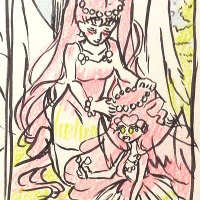 Nasika sakura day 60 march 22 daily doodle 2 maternity thumbnail