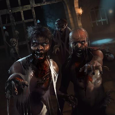 Sebastian diaconu zombie dungeon 3v