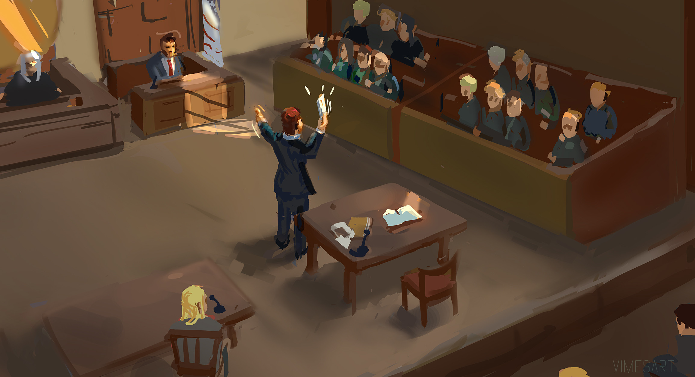 """""""Ladies and gentleman of the jury, the truth is we can not say for sure what happened. Even with all the witnesses and evidence laid out before you, at least some amount of doubt must still remain?"""""""