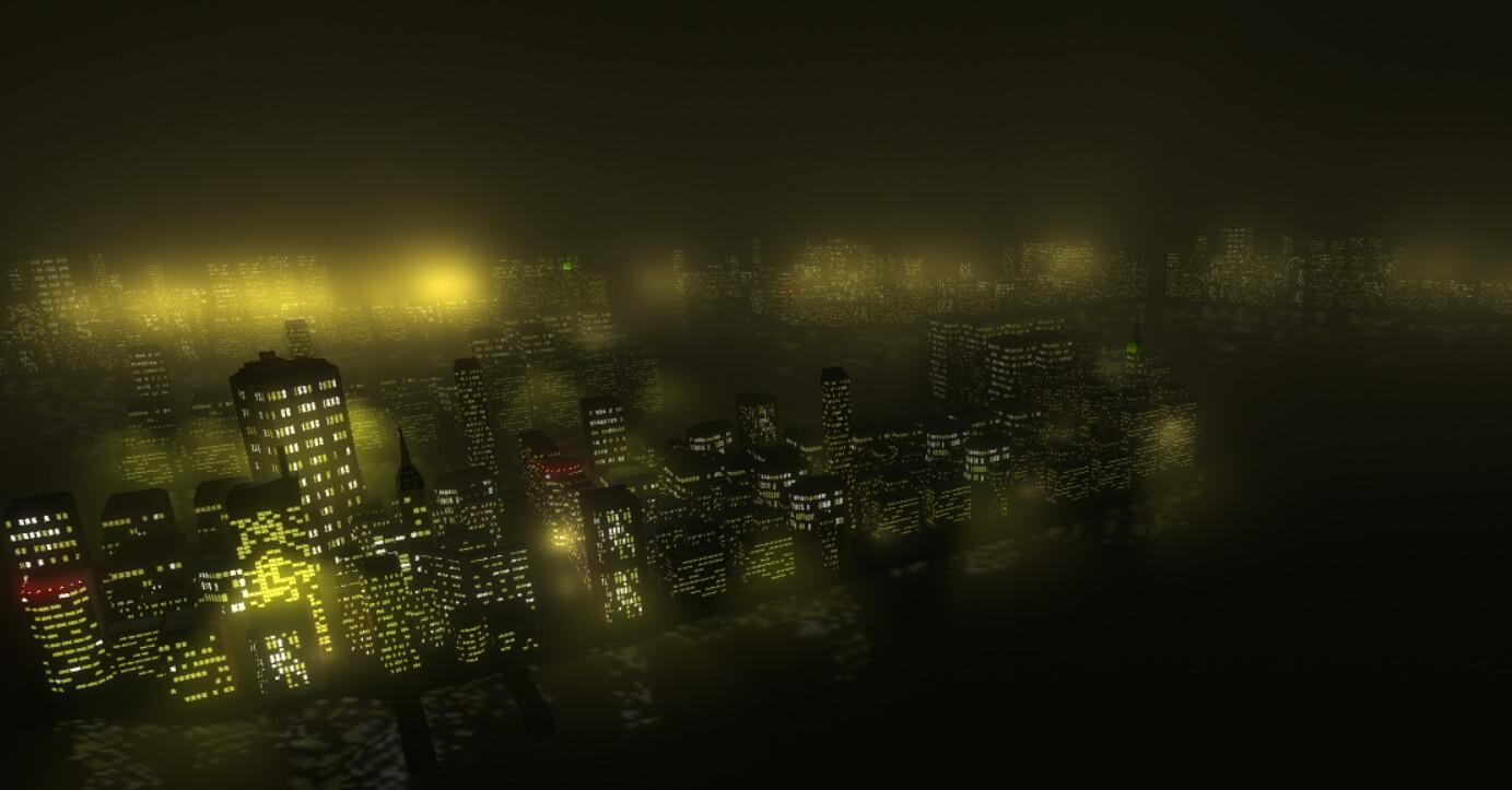 ArtStation - 3D City inspired by Hong Kong, arnaud guegherouni