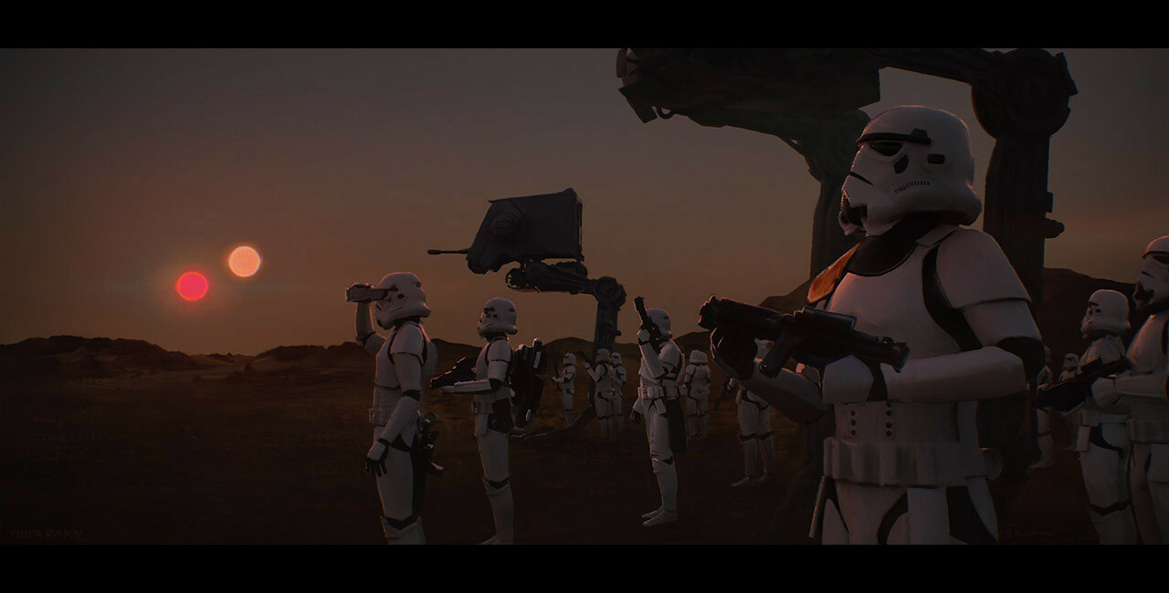 Star Wars - Red Suns Rising