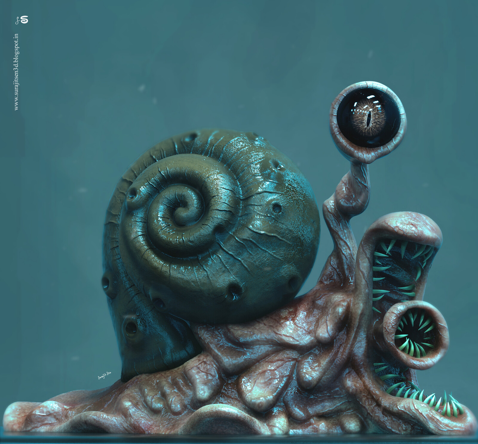 My weekend Concept Sculpt!  Wish to share..:)  Hope you like it.