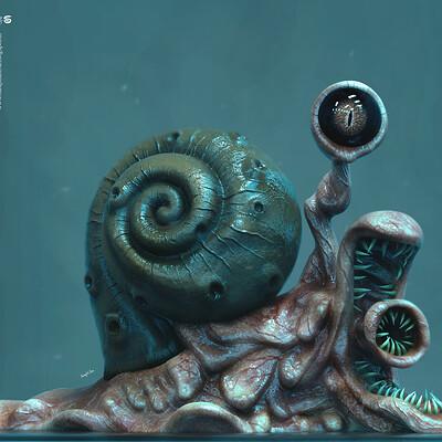 Surajit sen psycho snail by surajitsen march2019