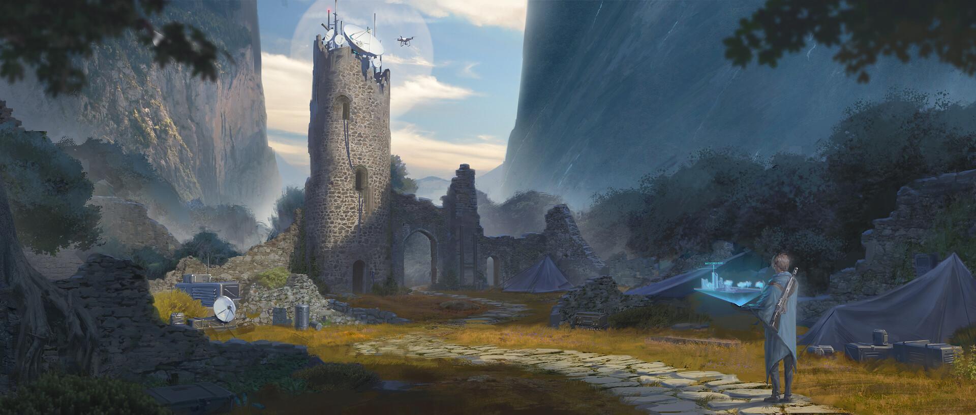 Jasza dobrzanski ruins concept final