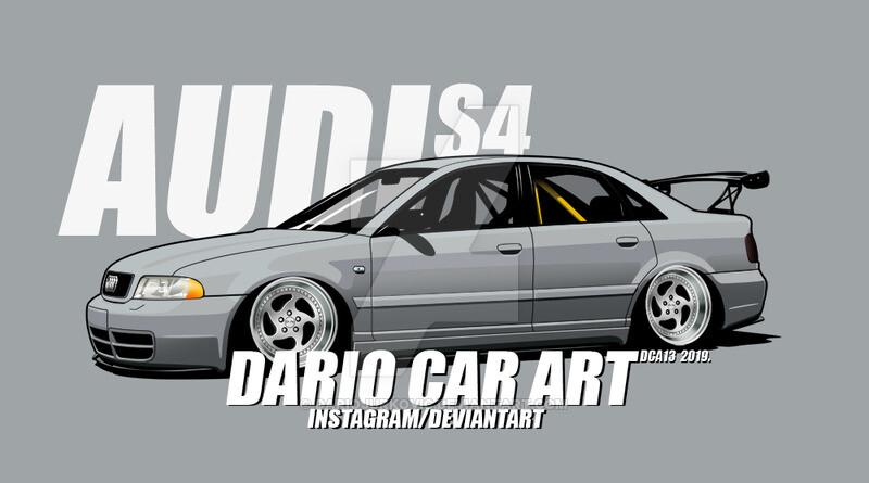 Audi S4 B5 >> Artstation Audi S4 B5 Wagnair By Dariocarart Dca13