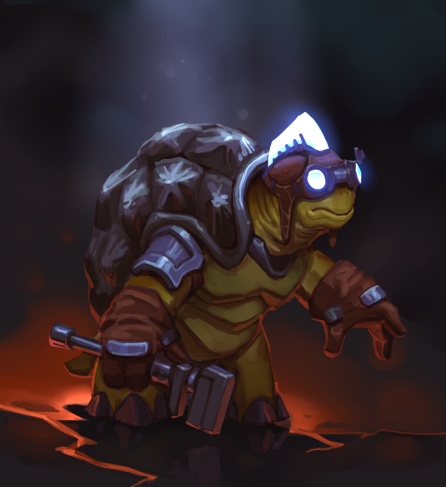 Tortle commission. I'm starting to really like this race