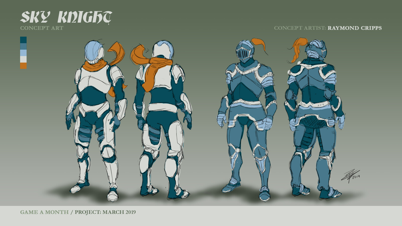 Concept art for Sky Knight