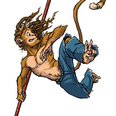 Piarot gagliardi s monkey