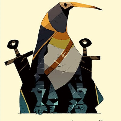 Satoshi matsuura 2019 03 15 penguin knight s