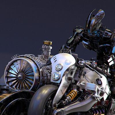 Ying te lien black rider 0326