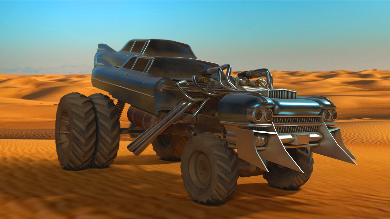 Fury Road's Gigahorse