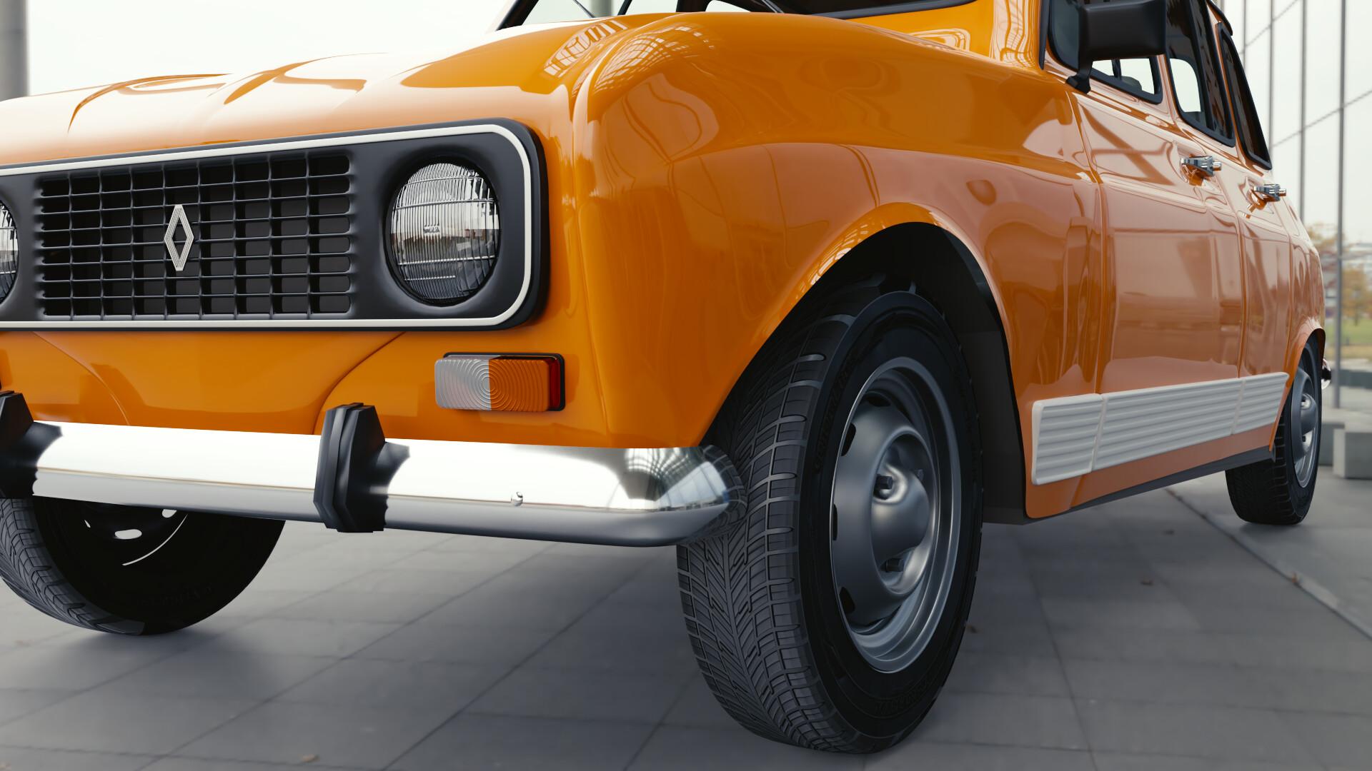 Ricardo Salamanca Renault 4 Gtl