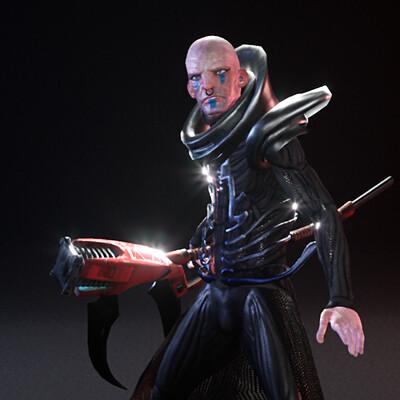 Asteross -Cyberpunk Boss