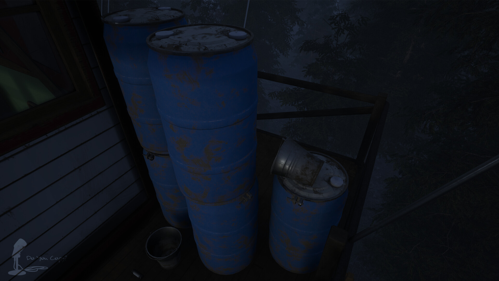 55 Gallon Drum - Rendered In Engine