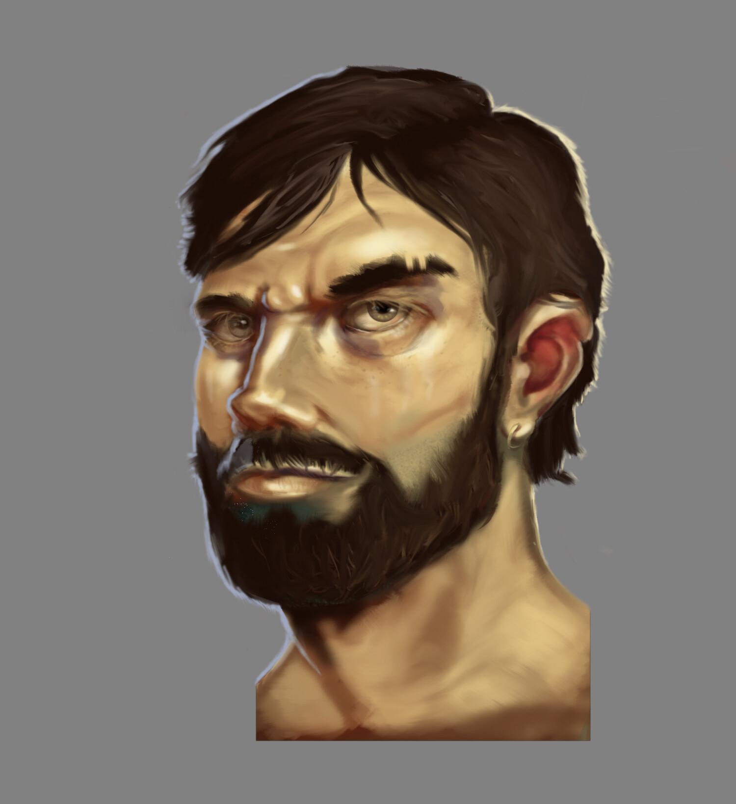 Mccal joy portrait tutorial 1