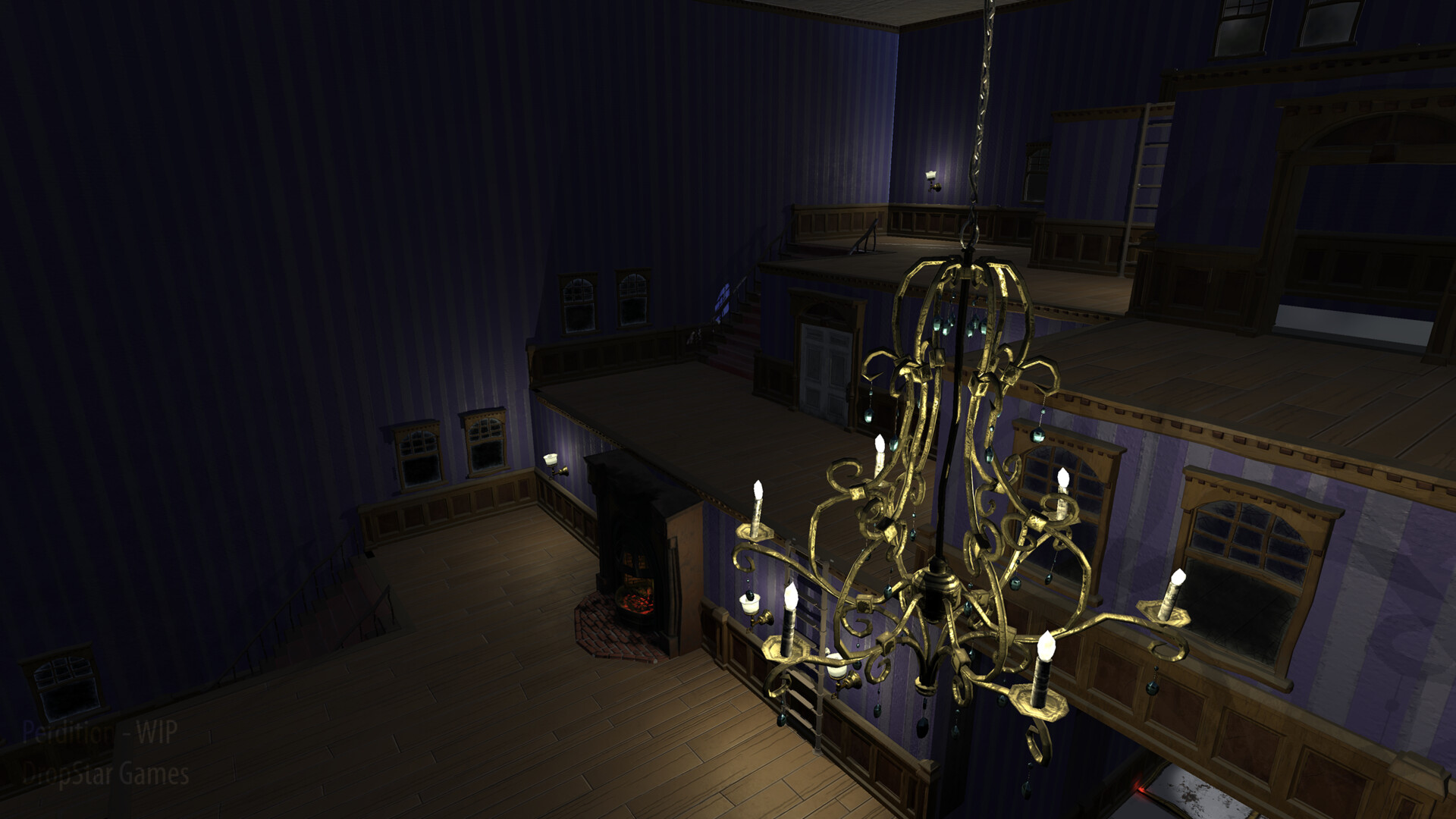 Chandelier - In Game