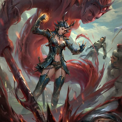 Fajareka setiawan blood summoner x
