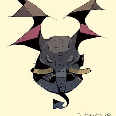 Satoshi matsuura 2019 03 25 elephant imp s