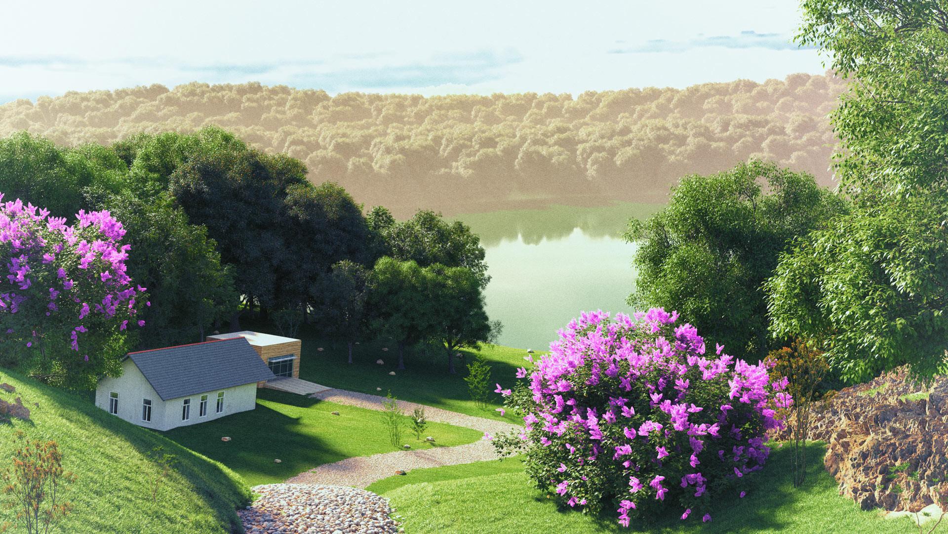 Land & lake