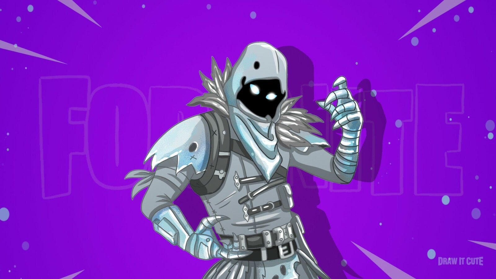 Artstation How To Draw Frozen Raven Fortnite Season 7