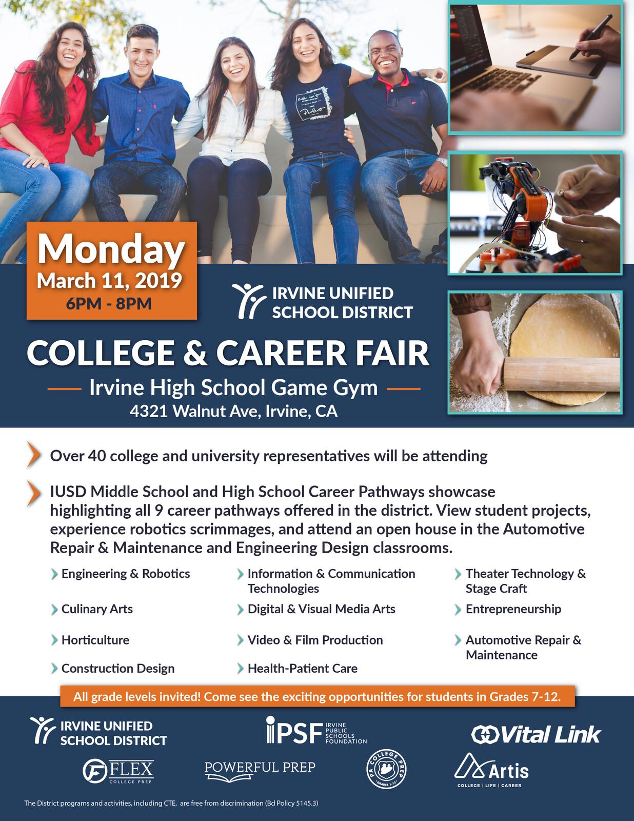 Career Technical Education Flyer 2019